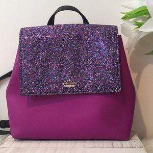 Kate spade glitter neema backpack